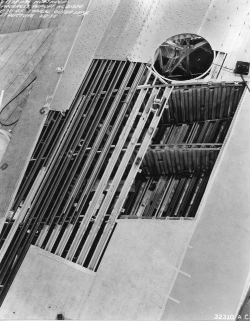 XB-35 Wing Structure