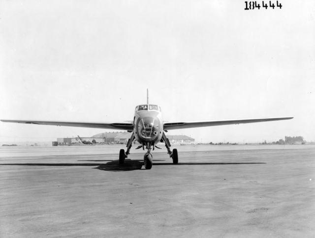 XB-42 Front
