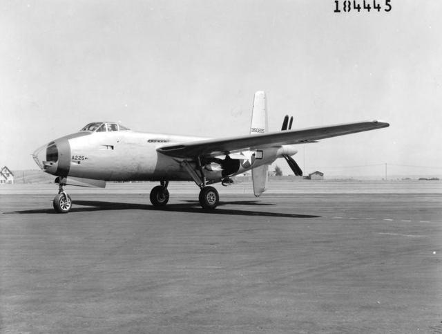 XB-42 Front Quarter