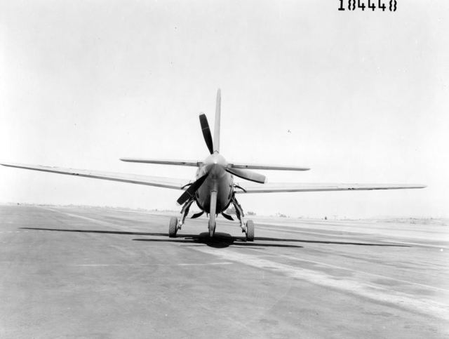 XB-42 Rear