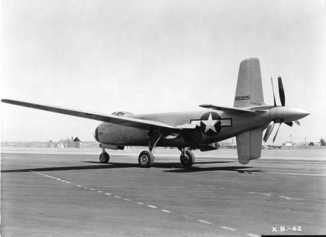 XB-42 Ship 2 Rear Quarter
