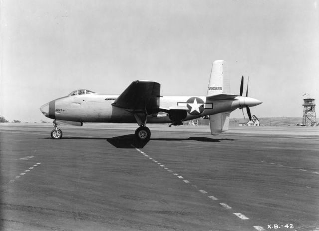 XB-42 Ship 2 Side View