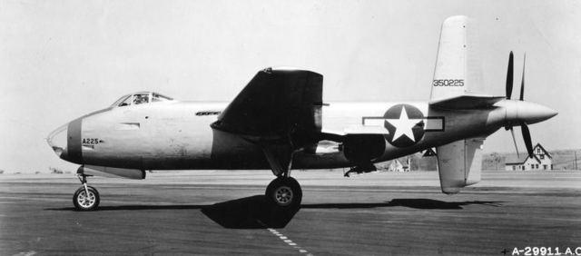 XB-42 Side