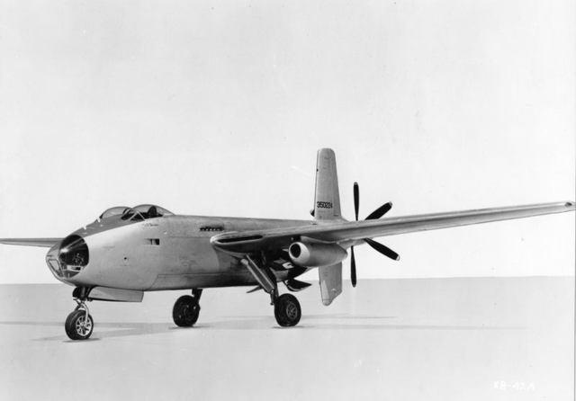 XB-42A Front Quarter 2