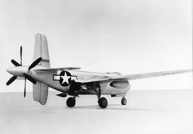 XB-42A Rear Quarter