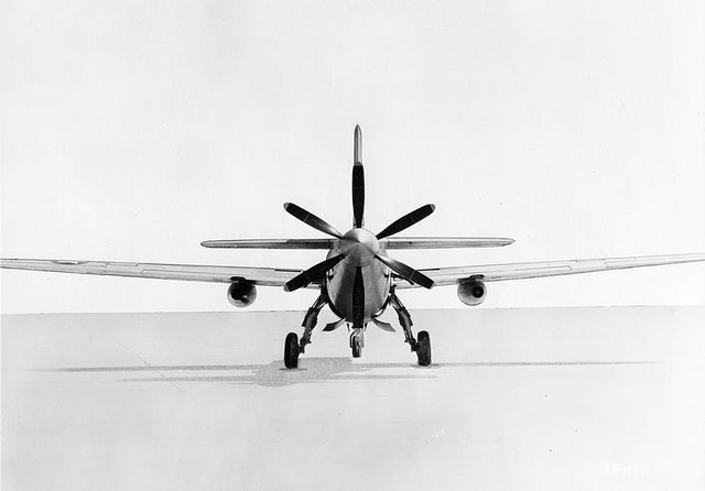 XB-42A Rear View
