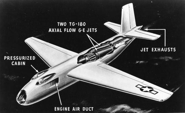 XB-43 Cutaway