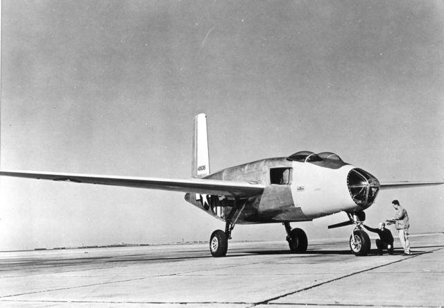XB-43 Front Quarter