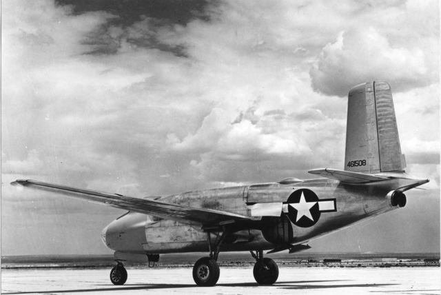 XB-43 Rear Quarter