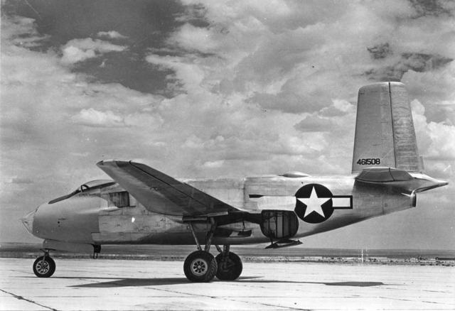 XB-43 Side View