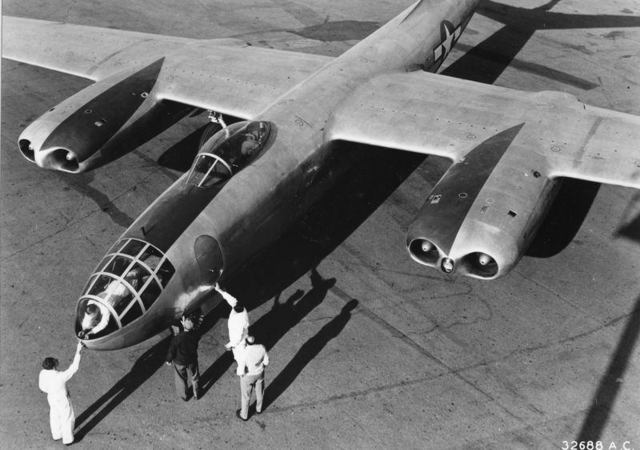 XB-45 First Photo