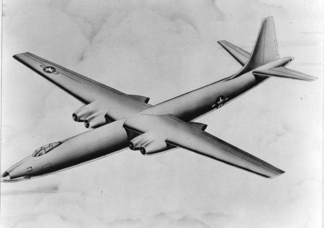 XB-46 Artist Concept