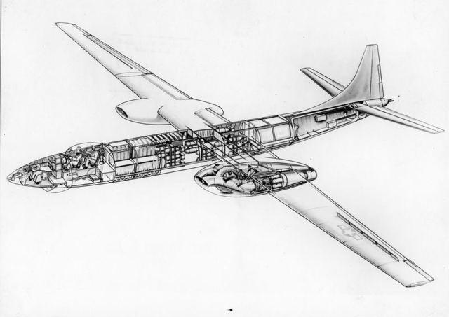 XB-46 Cutaway