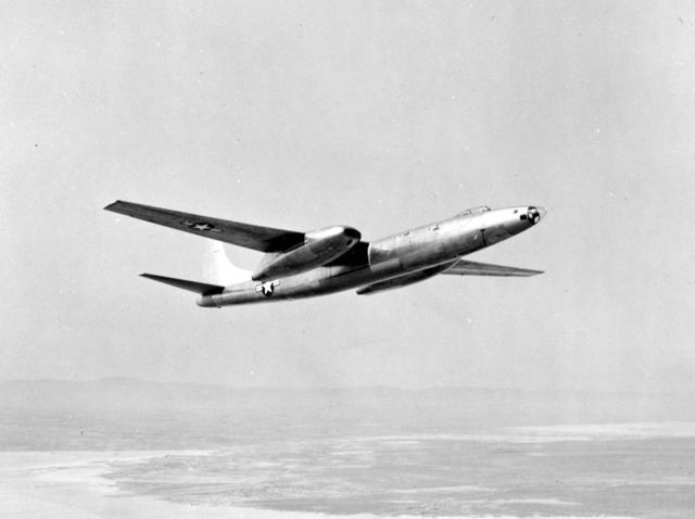 XB-46 First Flight