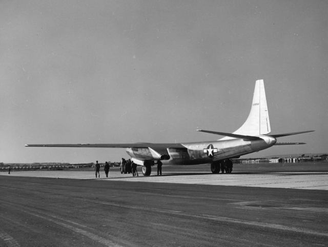 XB-46 Rear Quarter