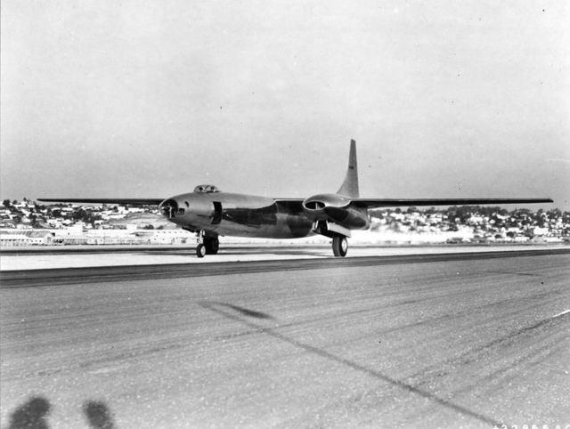 XB-46 Taxi San Diego