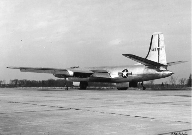 XB-48 Rear Quarter