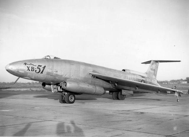 XB-51 Front Quarter 2