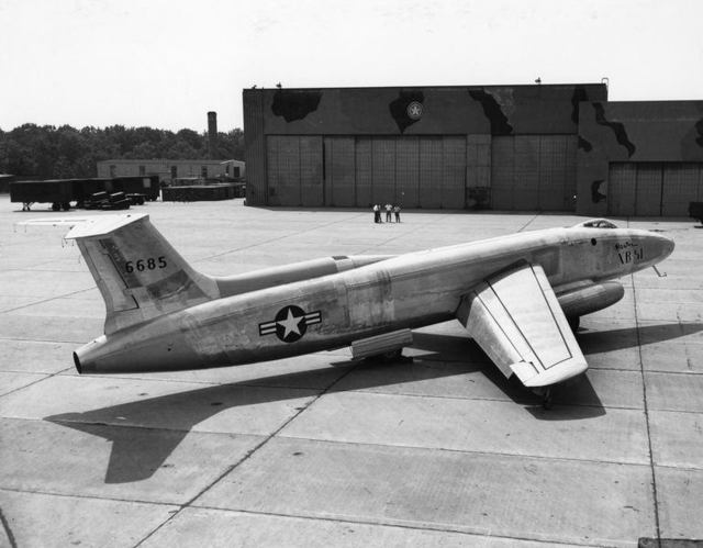 XB-51 High Rear Quarter