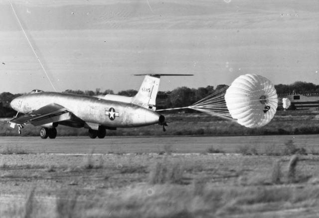 XB-51 Landing 3