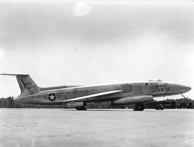 XB-51 Side