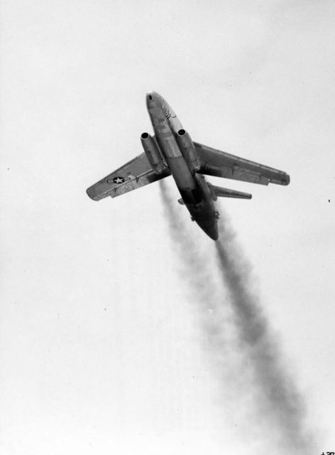 XB-51 Take Off 2