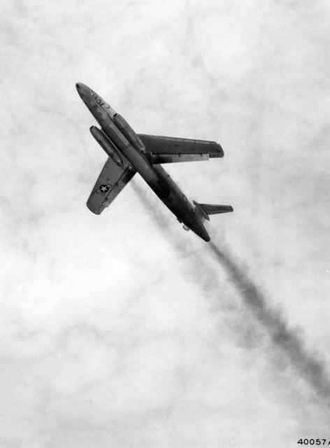 XB-51 Take Off 3