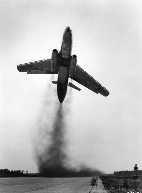 XB-51 Take Off 4