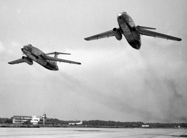 XB-51 Two Ship Flyby