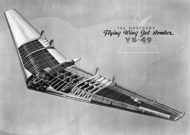 YB-49 Cutaway
