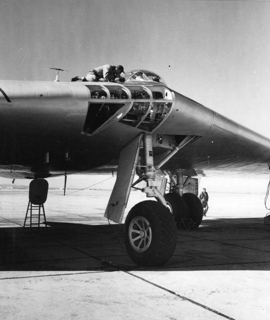 YB-49 Nose
