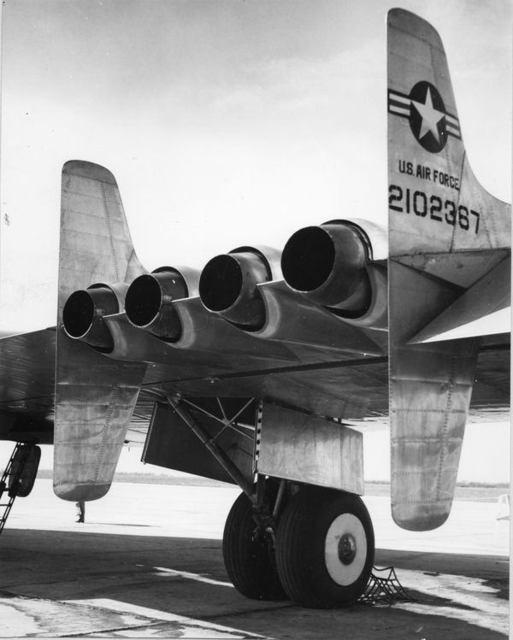 YB-49 Nozzles