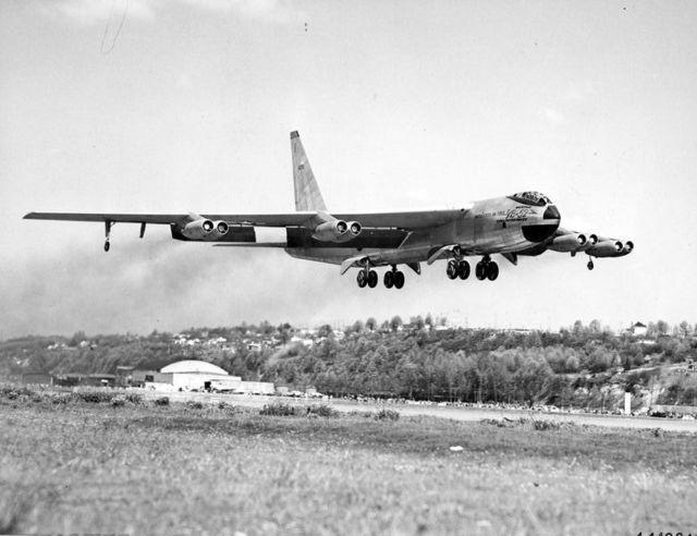 YB-52 Take Off 2