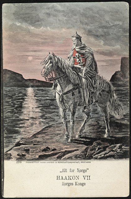 "296. ""Alt for Norge"" Haakon VII Norges Konge"