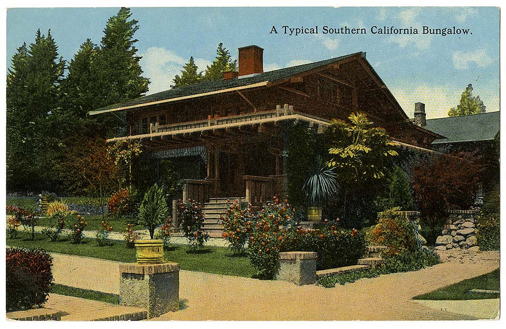 A typical Southern California bungalow