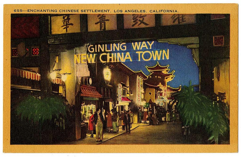 Enchanting Chinese settlement, Los Angeles, California