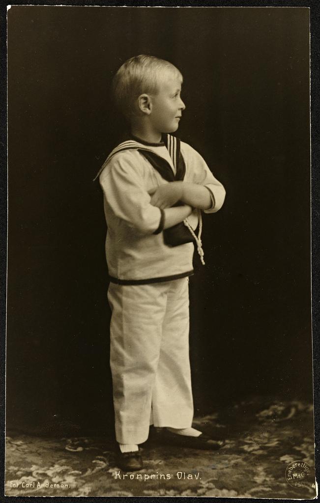 Kronprins Olav, 1907