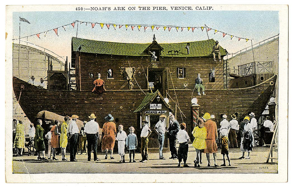 Noah's Ark on the pier, Venice, Calif.