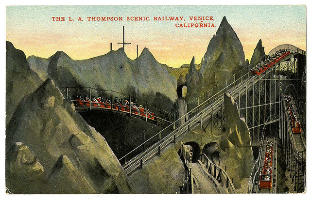 The L.A. Thompson Scenic Railway, Venice, California