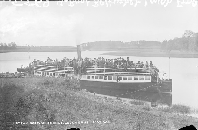 Steamboat, Lough Erne