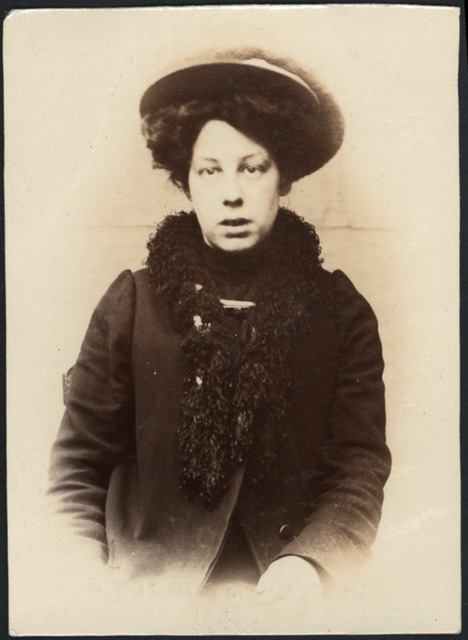 Florence Watson, domestic servant, arrested for stealing