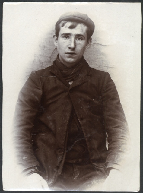 John Legg, arrested for stealing beer