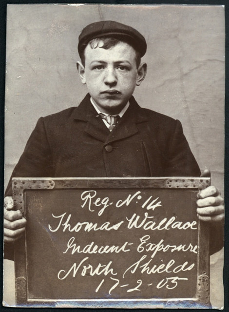 Thomas Wallace, arrested for indecent exposure