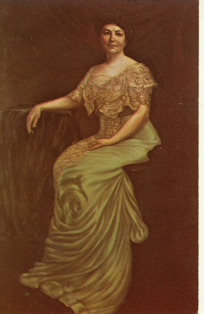 Ellen Axson Wilson at the Carnegie Library
