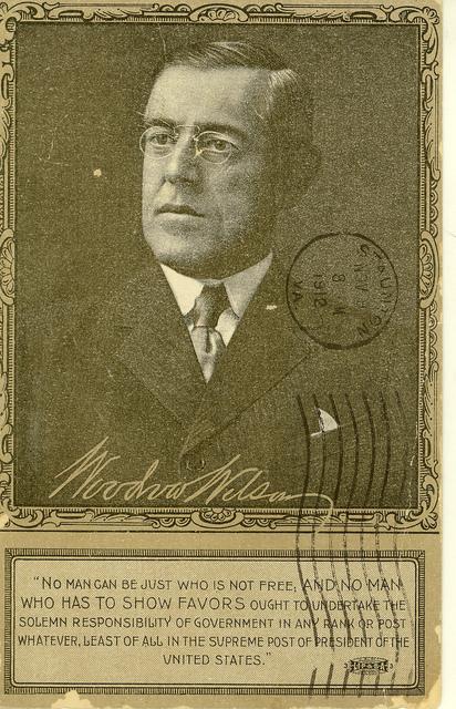 Woodrow Wilson for President