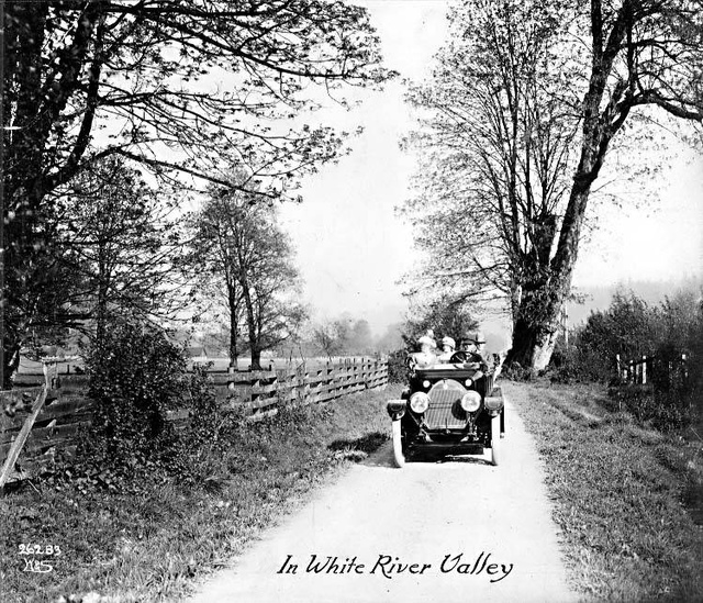 Automobile touring, White River Valley