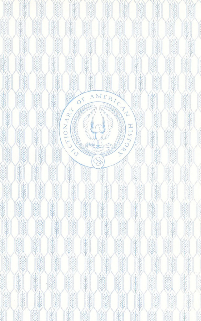 Blue pattern with eagle (DICTIONARY OF AMERICAN HISTORY)