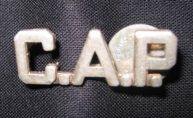 Civilian Air Patrol pin