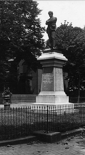 Confederate Monument in Alexandria, Virginia