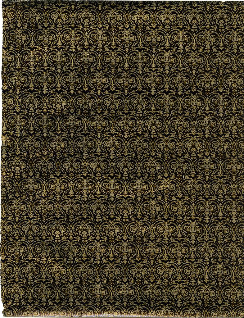 Dark & gold ornamented pattern